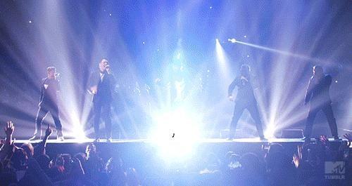 NSYNC VMAs Performance