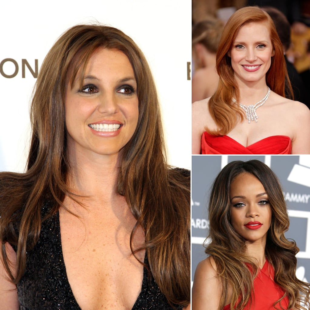 Spring provides the ultimate opportunity to change up your hair color à la Britney Spears, or find inspiration in other celebrities' hues.