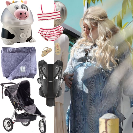 See What Jessica Simpson Received at Her Baby Shower