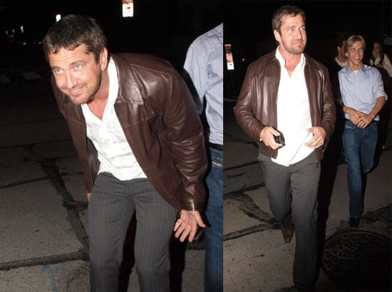 Gerard Butler Living It Up in LA . . . With Cameron?