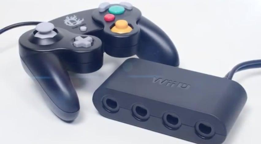 """Nintendo's official Wii U Gamecube controller adapter!"" Source: Reddit user GamerBlue53 via Imgur"