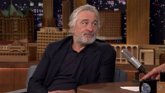Robert De Niro Isn't Fazed by Jimmy Fallon's Impression of Him