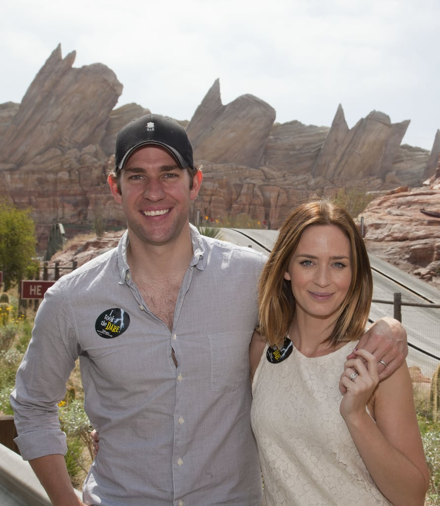 John and Emily spent a cute day at Disney's California Adventure in July 2012.