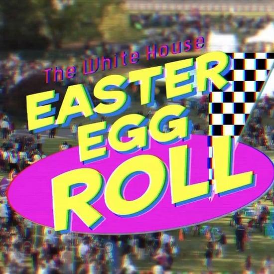 White House Easter Egg Roll '90s Sitcom Video