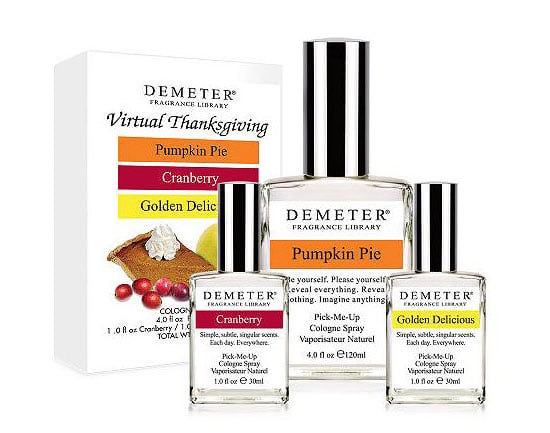 Demeter Fragrance Library's Thanksgiving Perfumes