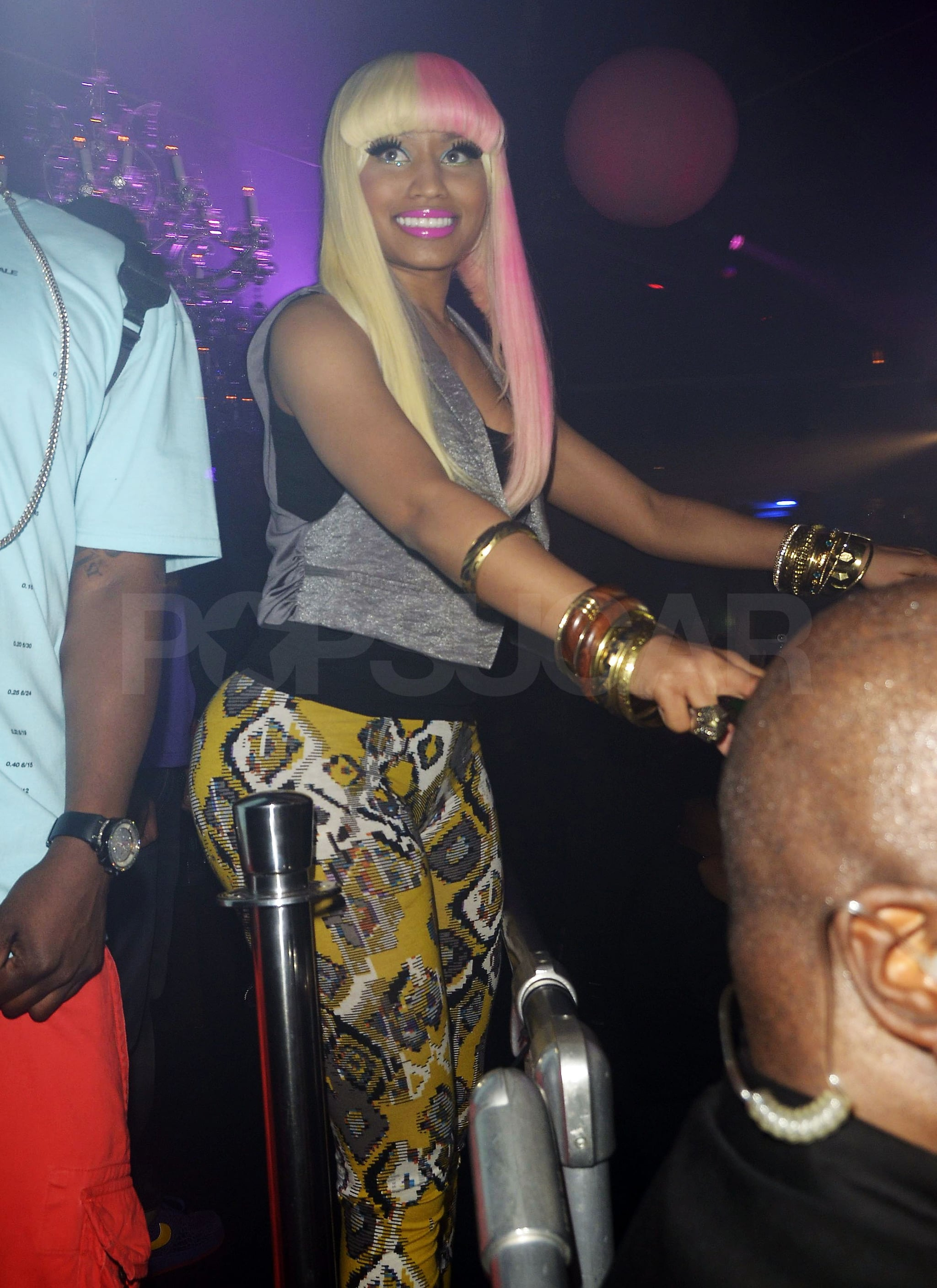 Britney Spears Mixes It Up at Nicki Minaj's LA Afterparty