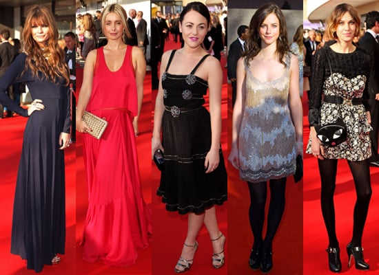 Best Dressed Ladies at 2009 BAFTA TV Awards