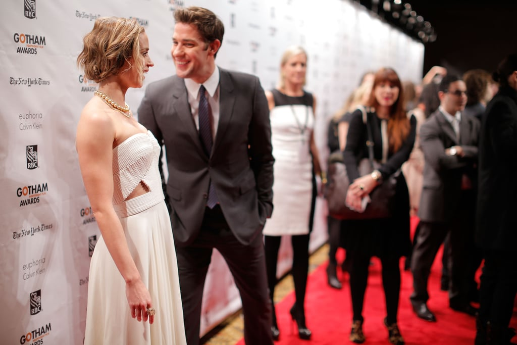 John Krasinski and Emily Blunt were on the red carpet in NYC.