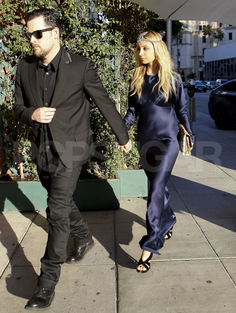 Nicole Richie and Joel Madden going out in LA.