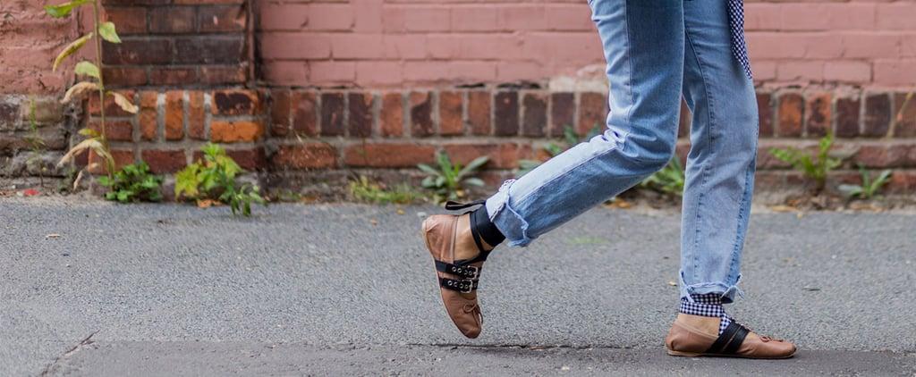 This Little Ballet Flat Is Already Autumn's Hottest Shoe