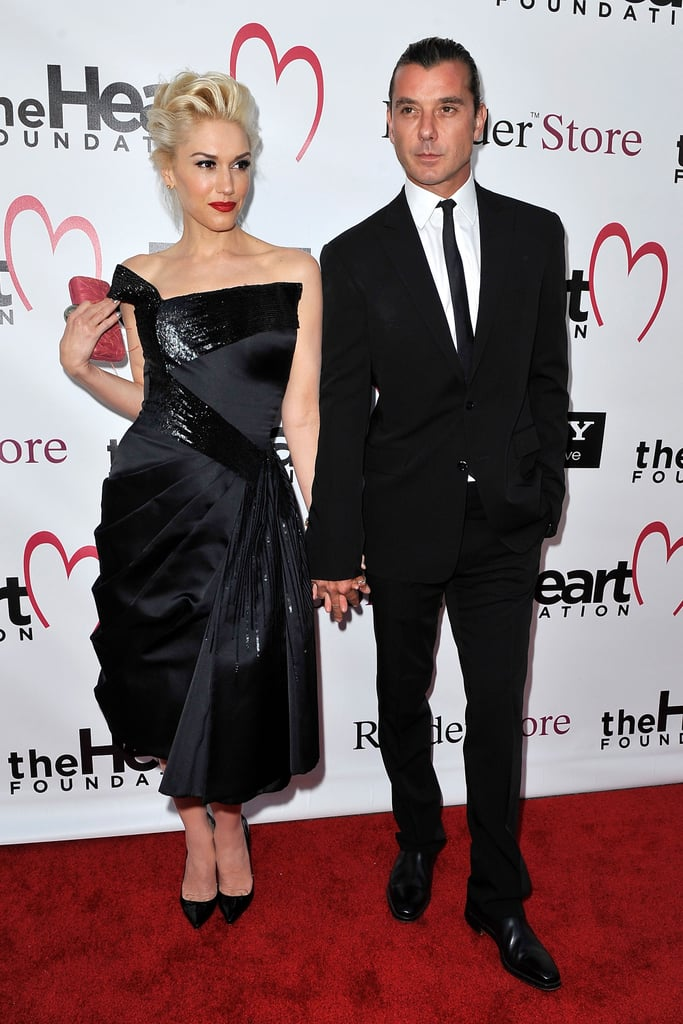 Gwen Stefani and Gavin Rossdale walked the red carpet.