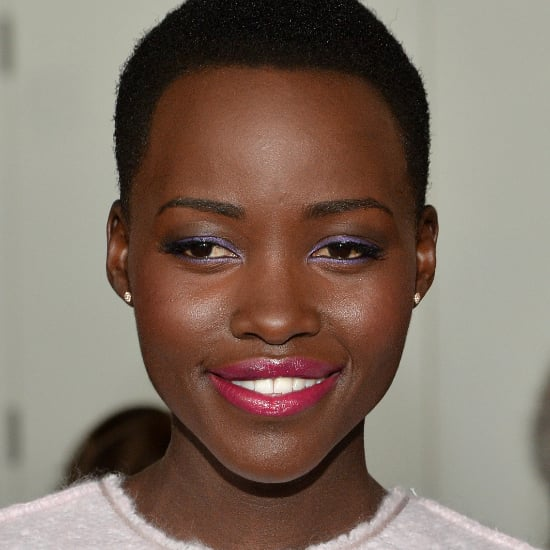 Lupita Nyong'o Makeup at New York Fashion Week 2014