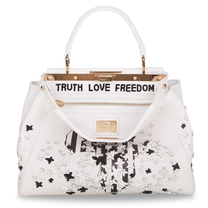 Naomie Harris's Fendi Peekaboo Bag