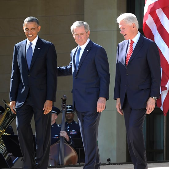 All 5 Living Presidents Unite For George W. Bush | Video