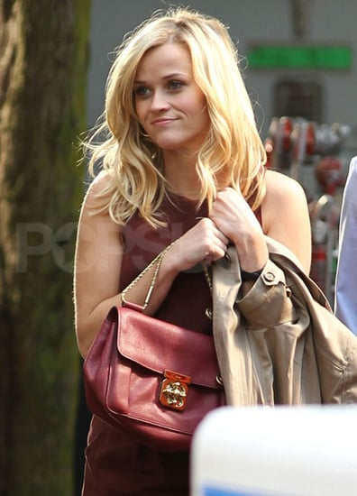 Pictures of Reese Witherspoon and Tom Hardy on the Set of This Means War