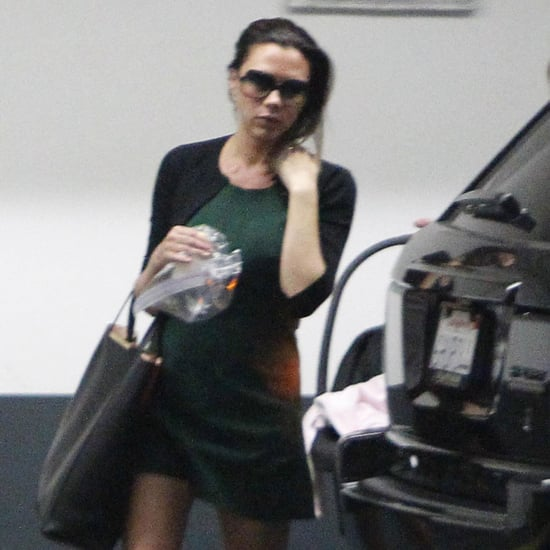 Victoria Beckham After Giving Birth to Harper Pictures