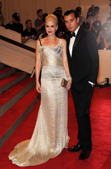 Gwen Stefani and Gavin Rossdale attended the Costume Institute Gala Benefit in May 2010 in NYC.