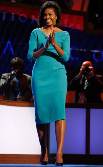 Michelle Obama Sticks to Her Hometown Designer, Maria Pinto, For Democratic National Convention