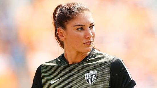 Hope Solo Suspended from U.S. National Team For Six Months