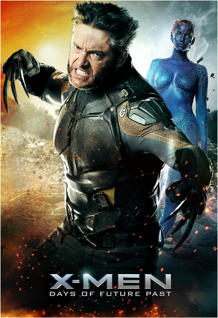 Don't mess with Wolverine, or Mystique, for that matter.