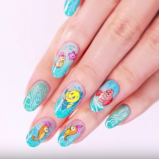 Little Mermaid Nail Art DIY Video