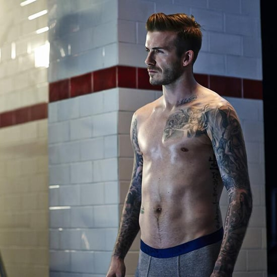 Here's a New Video of David Beckham Posing in His Underwear For H&M