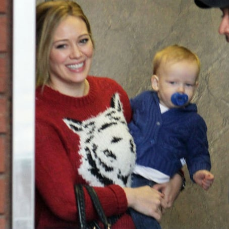 Hilary Duff and Luca Attending Babies First Class | Pictures