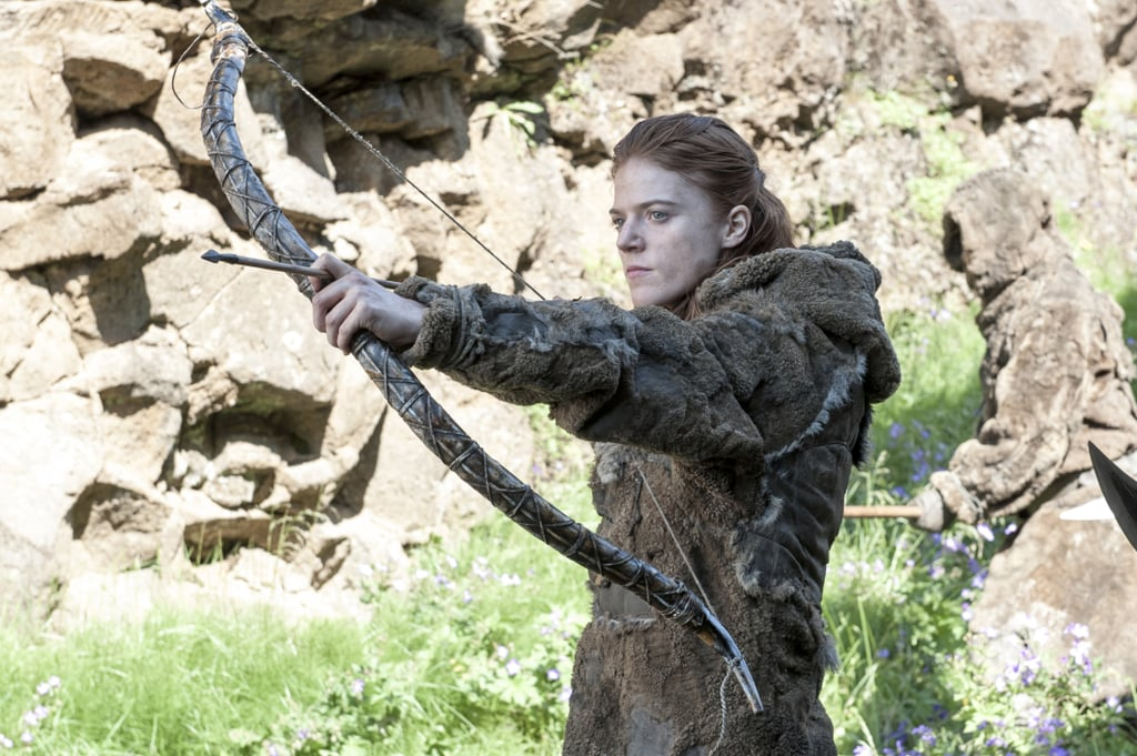 Ygritte takes aim.
