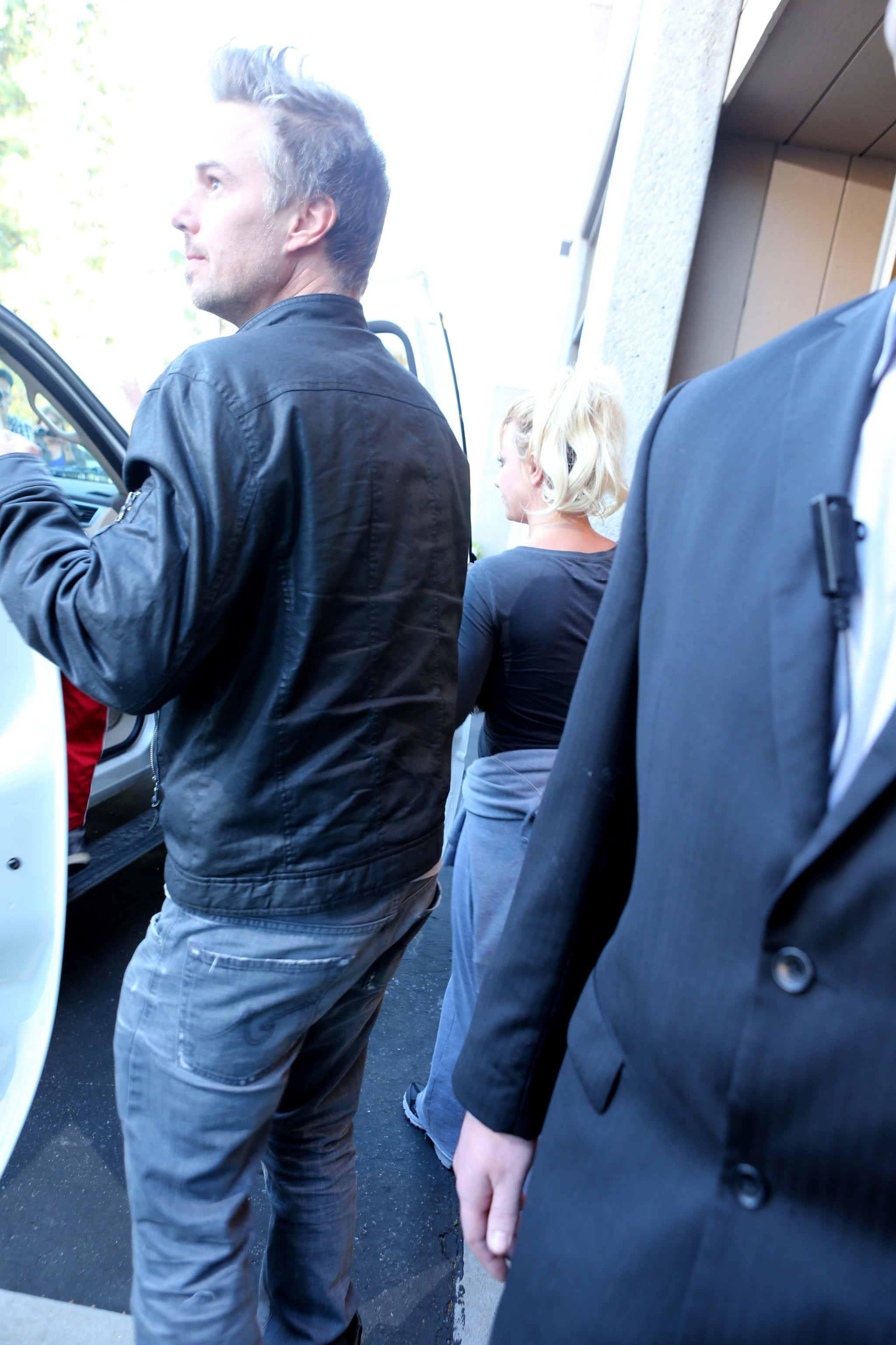 Jason Trawick got in the car outside of the California Music Academy.