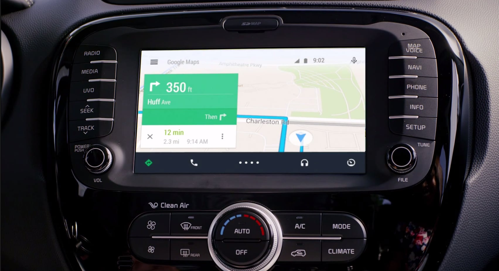 Google in Your Car