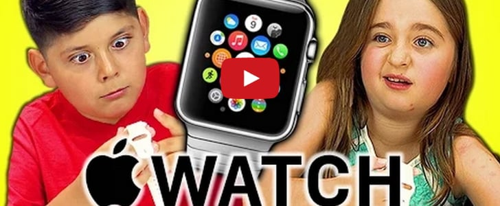 Kids React to the Apple Watch, and It's Exactly What We're All Thinking