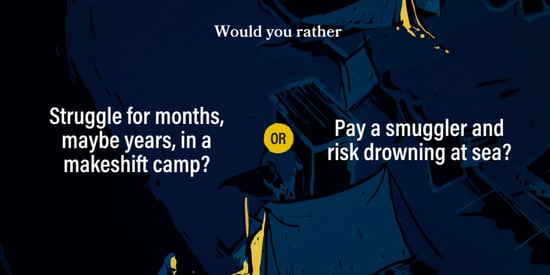 'Would You Rather' Quiz Highlights Impossible Choices Refugees Make