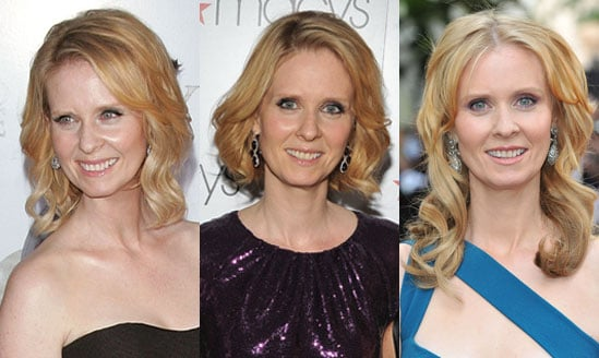 Pictures of Cynthia Nixon's Extensions