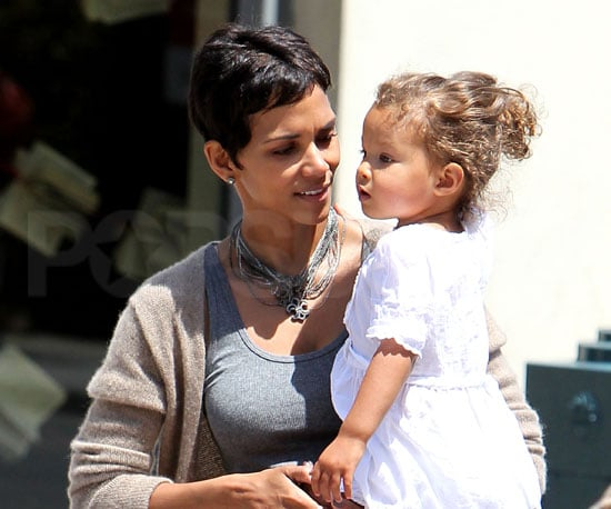 Slide Photo of Halle Berry and Nahla on Mother's Day