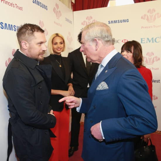 Tom Hardy Meets Prince Charles March 2016