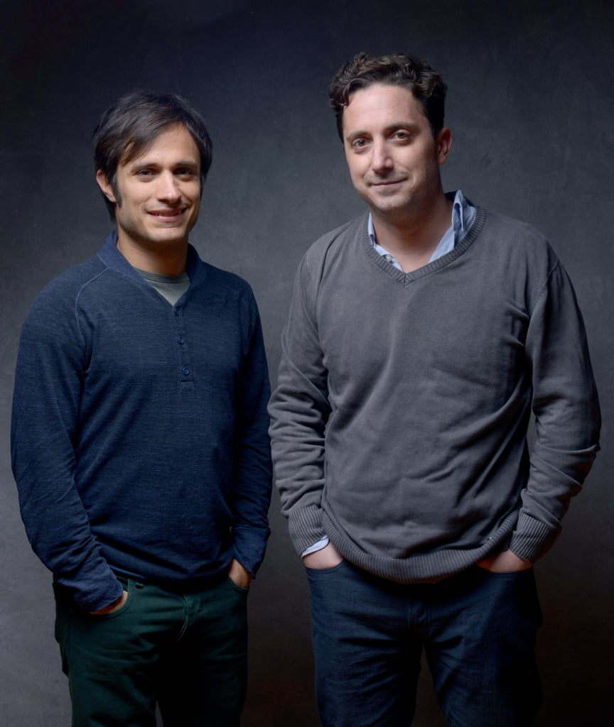 No actor Gael Garcia Bernal and director Pablo Larrain stood side by side to promote the foreign film.