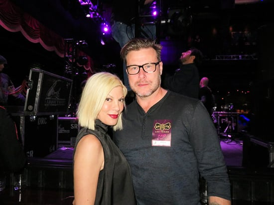 Tori Spelling and Dean McDermott Get Cozy at Jane's Addiction Concert