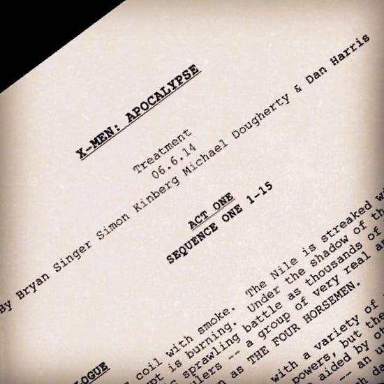Bryan Singer Reveals X-Men: Apocalypse Script | Picture