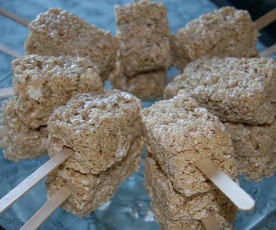 Rice Krispies Treats on Sticks