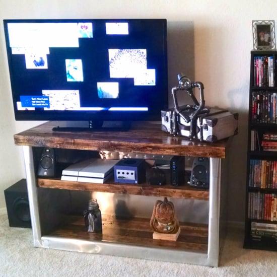 DIY Restoration Hardware TV Stand