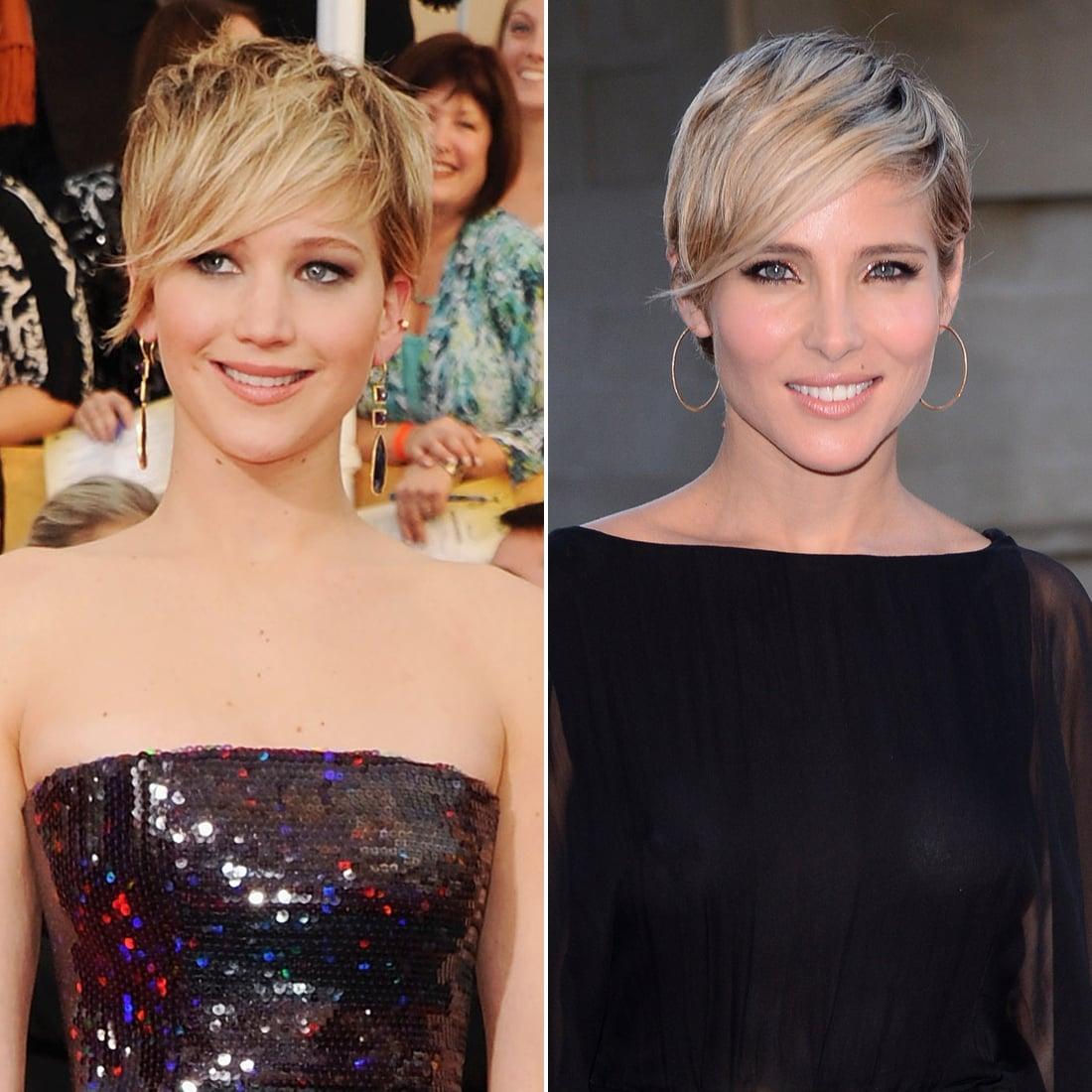 Jennifer Lawrence and Elsa Pataky