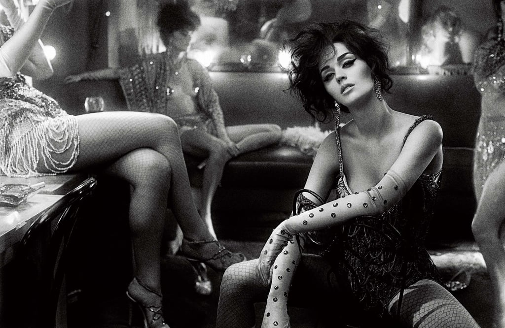 See Katy Perry's Sexy Burlesque Photo Shoot For Interview