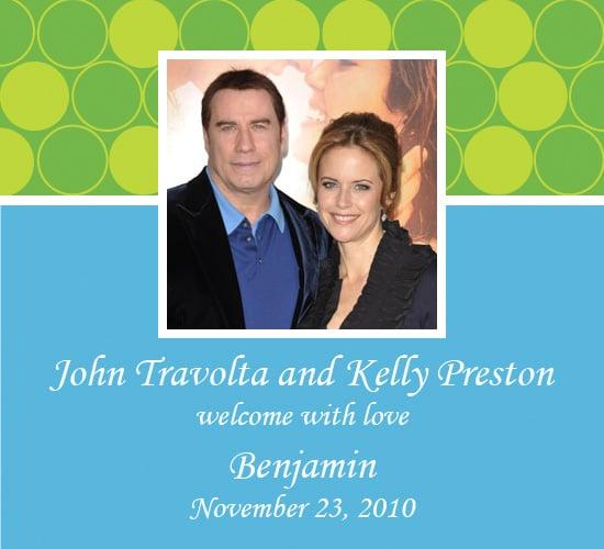 John Travolta Welcomes Baby Benjamin