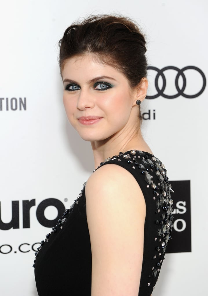 Alexandra Daddario at Elton John Party