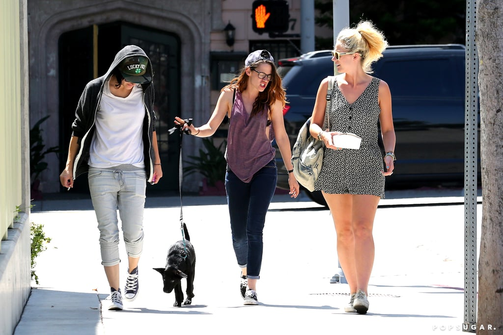 Kristen Stewart Has a Girls' Day With a (Possibly) New Puppy