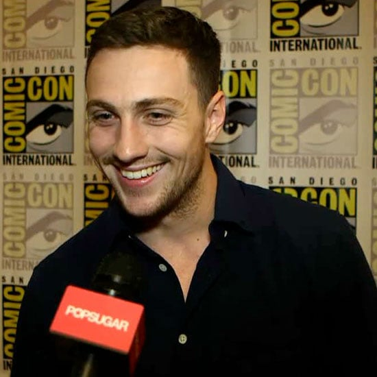 Aaron Taylor-Johnson Interview About Fifty Shades of Grey