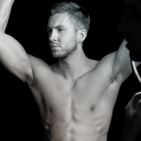 Calvin Harris Shirtless Instagram Picture May 2016