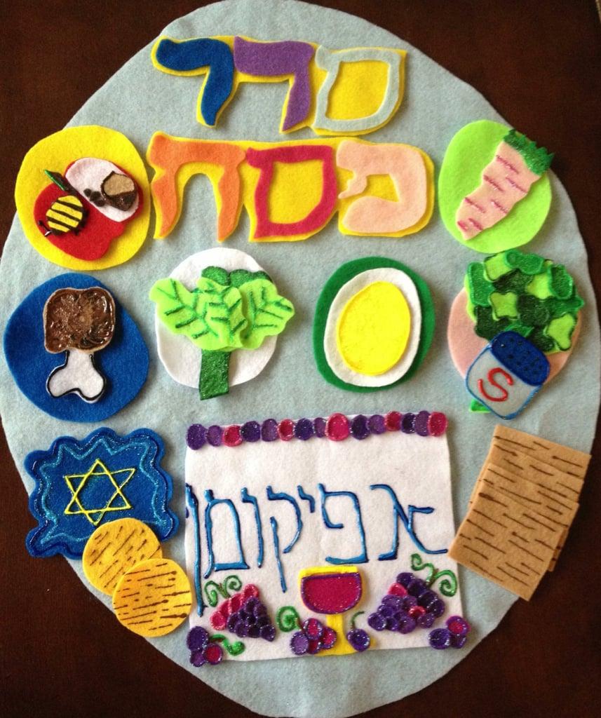 Felt Seder Board