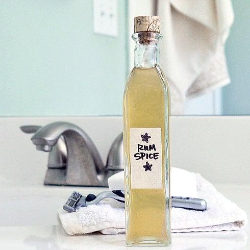 DIY Rum-Spice Aftershave