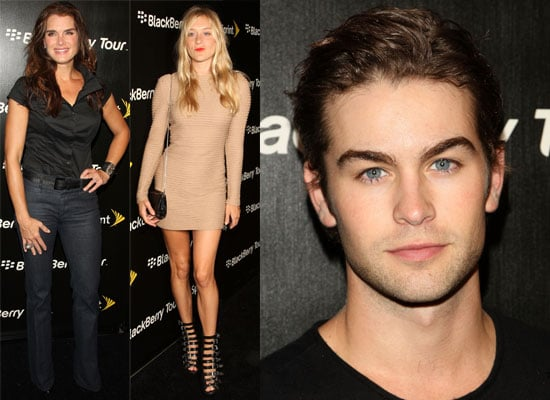 Photos Of Chace Crawford, Chloe Sevigny, Brooke Shields and Ashley Madekwe At Blackberry Party